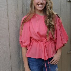 Women's Coral Top